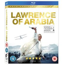 Lawrence of Arabia (Restored Version) [Blu-ray] [UK Import]