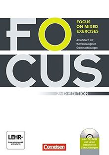 Focus on Mixed Exercises - Second Edition: B1/B2 - Arbeitsbuch mit Lösungen und CD-ROM