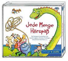 Jede Menge Hörspaß (3CD): Die lustigsten Geschichten von Astrid Lindgren, Christine Nöstlinger, Erhard Dietl, Paul Maar u.a.