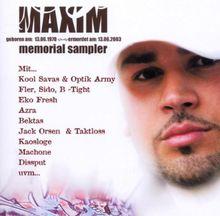 Maxim Memorial Sampler