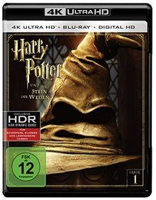 Harry Potter und der Stein der Weisen (4K Ultra HD + 2D-Blu-ray) (2-Disc Version)