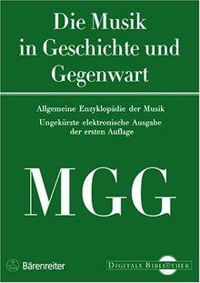 Musik in Geschichte und Gegenwart