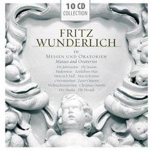Fritz Wunderlich in Messen und Oratorien