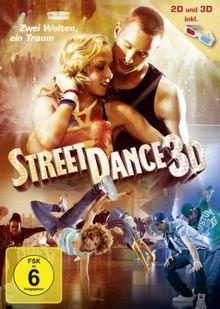 StreetDance 3D (2 DVDs, 2D+3D Version inkl. 3D Brillen)