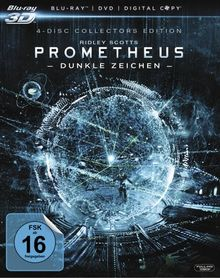 Prometheus - Dunkle Zeichen (+ Blu-ray + DVD + Digital Copy) (Collector's Edition) [Blu-ray 3D]