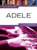 Really Easy Piano Adele Piano Book