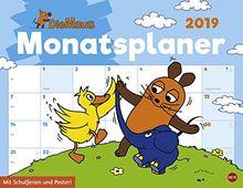 Die Maus Monatsplaner Kalender 2019 Von Heye