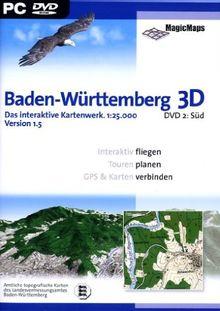 Baden-Württemberg 3D 1.5: DVD 2, Süd (DVD-ROM)