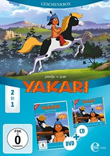 """Yakari – """"Das blaue Pferd"""" – Folge 27, Geschenkbox (Hörspiel + DVD)"""