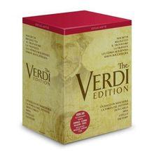 Die Verdi Edition - (Royal Opera House / Nederlandse Opera) [17 DVDs]