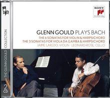 Glenn Gould Collection Vol.7 - Glenn Gould plays Bach: Sonaten für Violine und Cembalo BWV 1014-1019, Sonaten für Gambe und Cembalo BWV 1027-1029