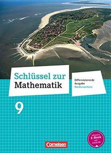Schlüssel zur Mathematik - Differenzierende Ausgabe Niedersachsen: 9. Schuljahr - Schülerbuch