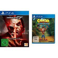 Tekken 7 - Deluxe Edition - [Playstation 4] & Crash Bandicoot N.Sane Trilogy - [PlayStation 4]
