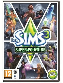 Sims 3 Supernatural [French Import] [PC/MAC]