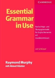 Essential Grammar in Use, German Edition with Answers