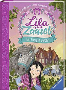 Lila und Zausel, Band 2: Ein Pony in Gefahr (Vorlese- und Familienbücher)