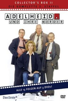 Adelheid und ihre Mörder - Adelheid Box 2: Die komplette 2. Staffel [3 DVDs]