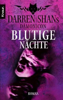 Darren Shans Dämonicon 4: Blutige Nächte
