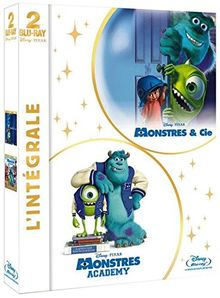 Coffret : monstres academy ; monstres & cie [Blu-ray]
