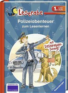 Polizeiabenteuer zum Lesenlernen (Leserabe - Sonderausgaben)