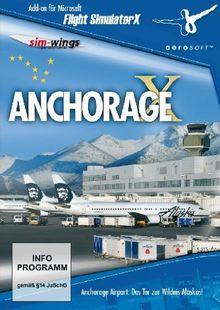 Flight Simulator X - Anchorage X (Add-On)