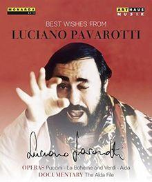 Best Wishes From Luciano Pavarotti (Aida, La Bohème und The Aida File) [3 Blu-rays]