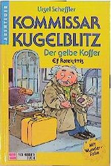 Kommissar Kugelblitz. Grossdruck: Kommissar Kugelblitz, Bd.3, Der gelbe Koffer