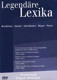 Legendäre Lexika. CD-ROM für Windows ab 98 und MacOS10.3