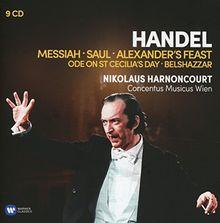 Handel: Messiah • Saul • Alexander's Feast • Ode on St Cecilia's Day • Belshazzar / Concentus Musicus Wien