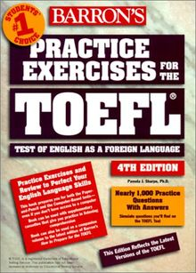 Barron's Practice Exercises for the TOEFL, w. 2 cassettes (Barron'S/Prince)