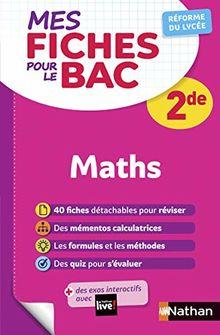 Mes fiches pour le BAC Mathématiques 2de