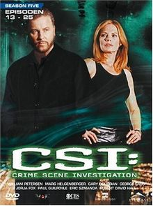CSI: Crime Scene Investigation - Season 5.2 (3 DVD Digipack)