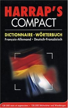 Harrap's compact dictionnaire Francais-Allemand / Deutsch-Französisch (Harrap'S Bilingue)