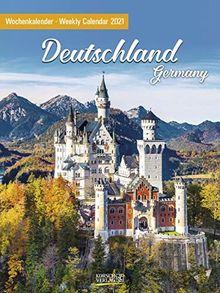 Deutschland 2021: Foto-Wochenkalender
