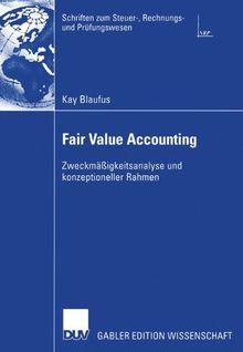 Fair Value Accounting: Zweckmäßigkeitsanalyse und Konzeptioneller Rahmen (Schriften zum Steuer-, Rechnungs- und Prüfungswesen)