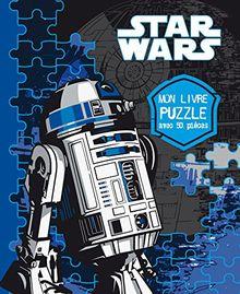 Star Wars, mon livre puzzle avec 50 pièces : 5 puzzles !