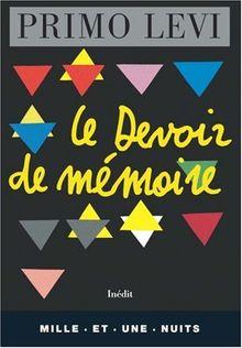 Le devoir de mémoire (La Petite Collection)