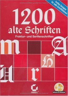 1200 alte Schriften