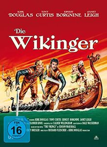 Die Wikinger - 2-Disc Limited Collector's Edition im Mediabook ( + DVD) [Blu-ray]