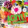 Acryl! mit Schablonen: Mischtechniken Neue Projekte Step by Step - Mit Schablone zum Sofort-Loslegen