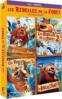 Coffret les rebelles de la forêt 4 films