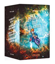 Per Anhalter durch die Galaxis.: Die 4 Bände der Trilogie: Per Anhalter durch die Galaxis / Das Restaurant am Ende des Universums / Das Leben, das ... Rest / Macht's gut und danke für den Fisch