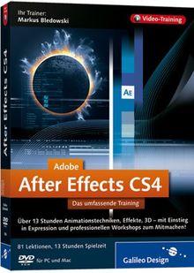 Adobe After Effects CS4 - Das umfassende Training auf DVD