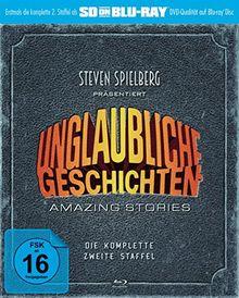Unglaubliche Geschichten - Amazing Stories - Die komplette zweite Staffel (SD on Blu-ray)