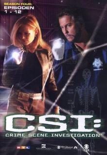 CSI: Crime Scene Investigation - Season 4.1 (Amaray) [3 DVDs]
