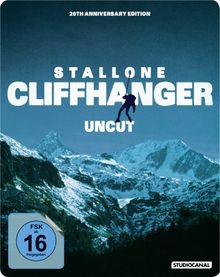 Cliffhanger - Steelbook (Uncut, 20th Anniversary Edition) [Blu-ray]