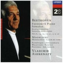 Beethoven: Favourite Piano Sonatas, Nos. 8, 14, 15, 17, 21, 23, 26