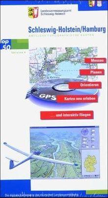 TOP 50: Schleswig-Holstein/Hamburg - Messen, Planen, Orientieren, Karten neu erleben und interaktiv fliegen