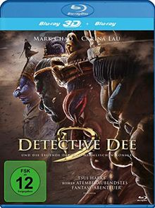 Detective Dee und die Legende der vier himmlischen Könige (inkl. 2D-Version 2D) [3D Blu-ray]