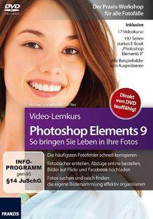 Photoshop Elements 9 - Video-Lernkurs (PC+MAC)